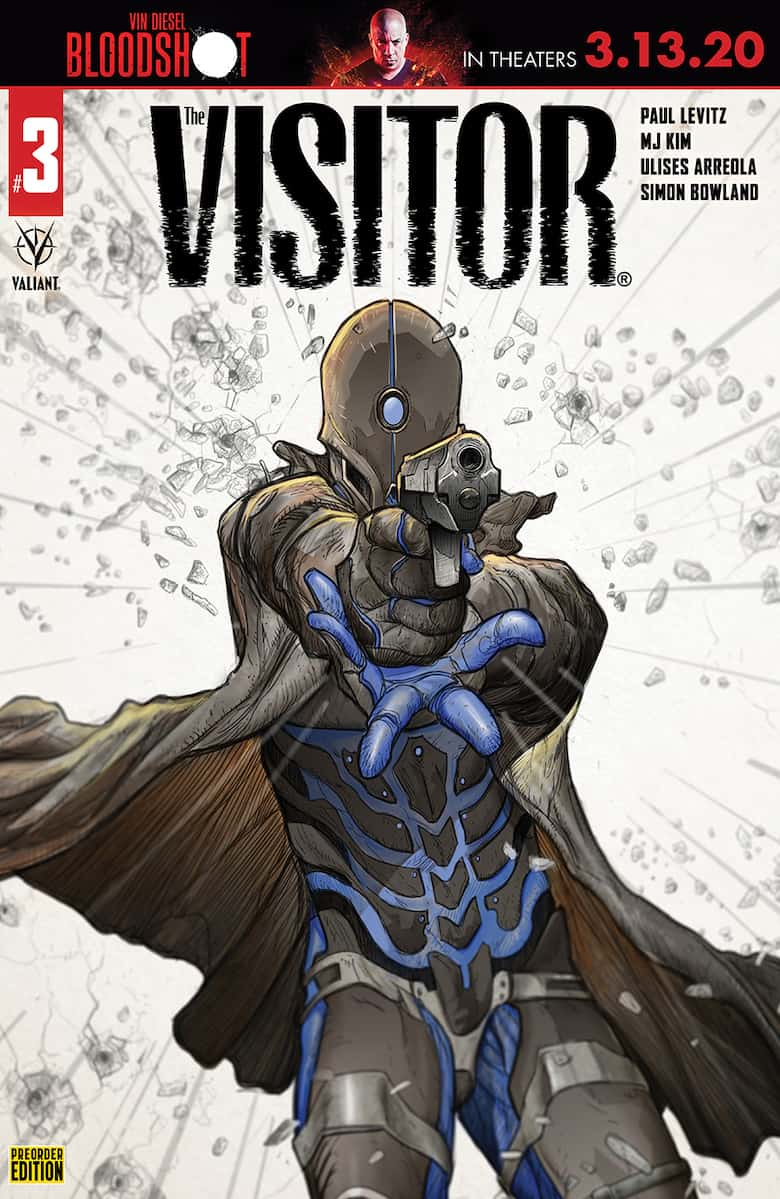 THE VISITOR #3 - Cover D