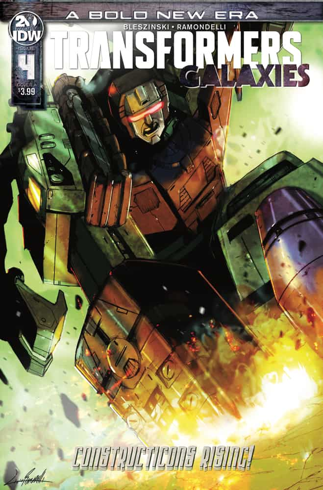Transformers: Galaxies #4 - Cover A