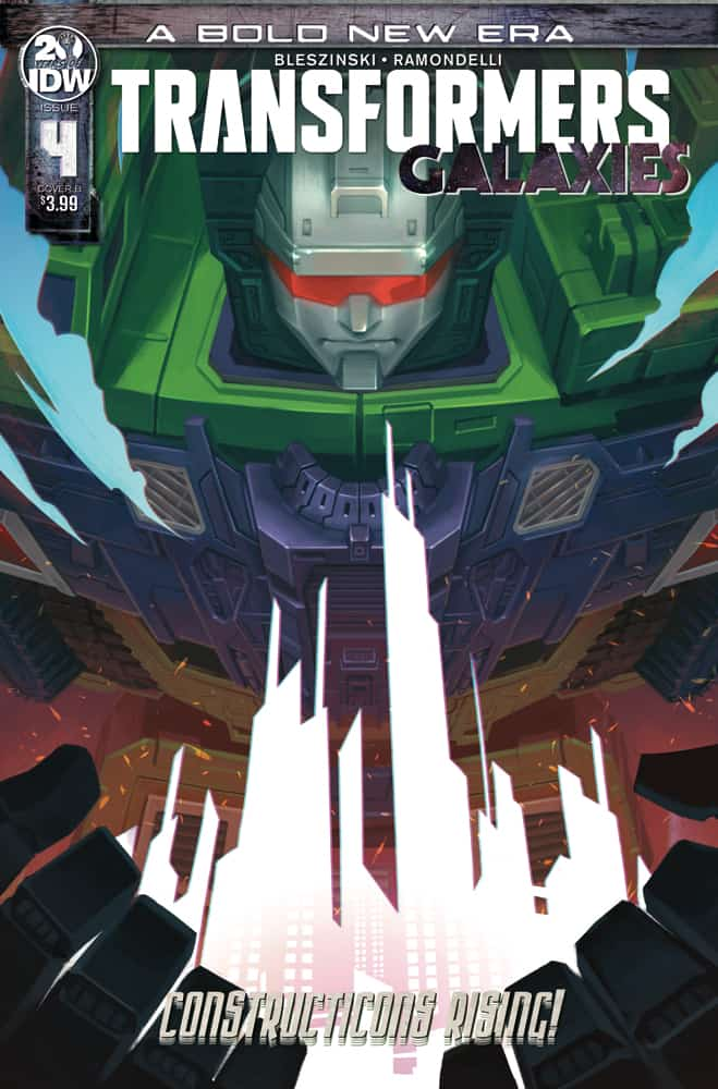 Transformers: Galaxies #4 - Cover B