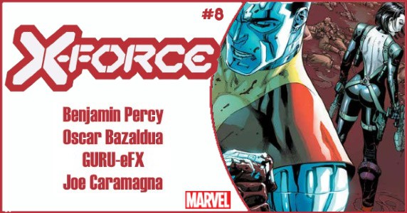 X-FORCE #8 preview featue