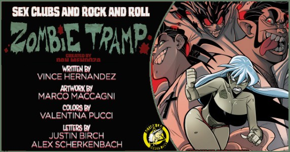 ZOMBIE TRAMP Vol. 18