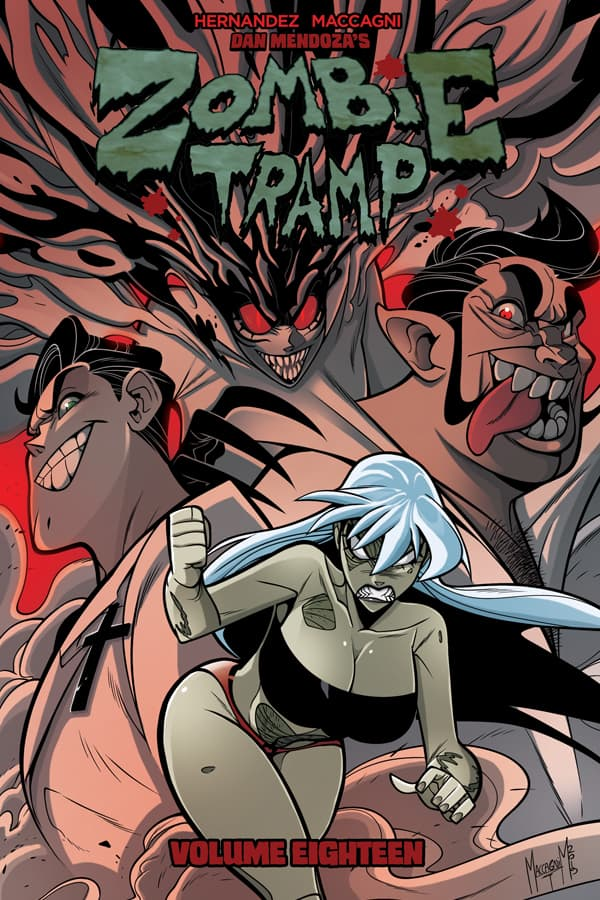 Zombie Tramp Volume 18 Cover