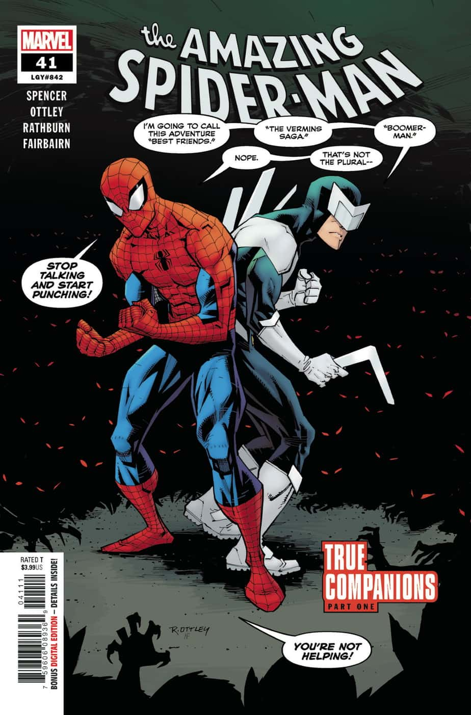 AMAZING SPIDER-MAN #41 - Cover A