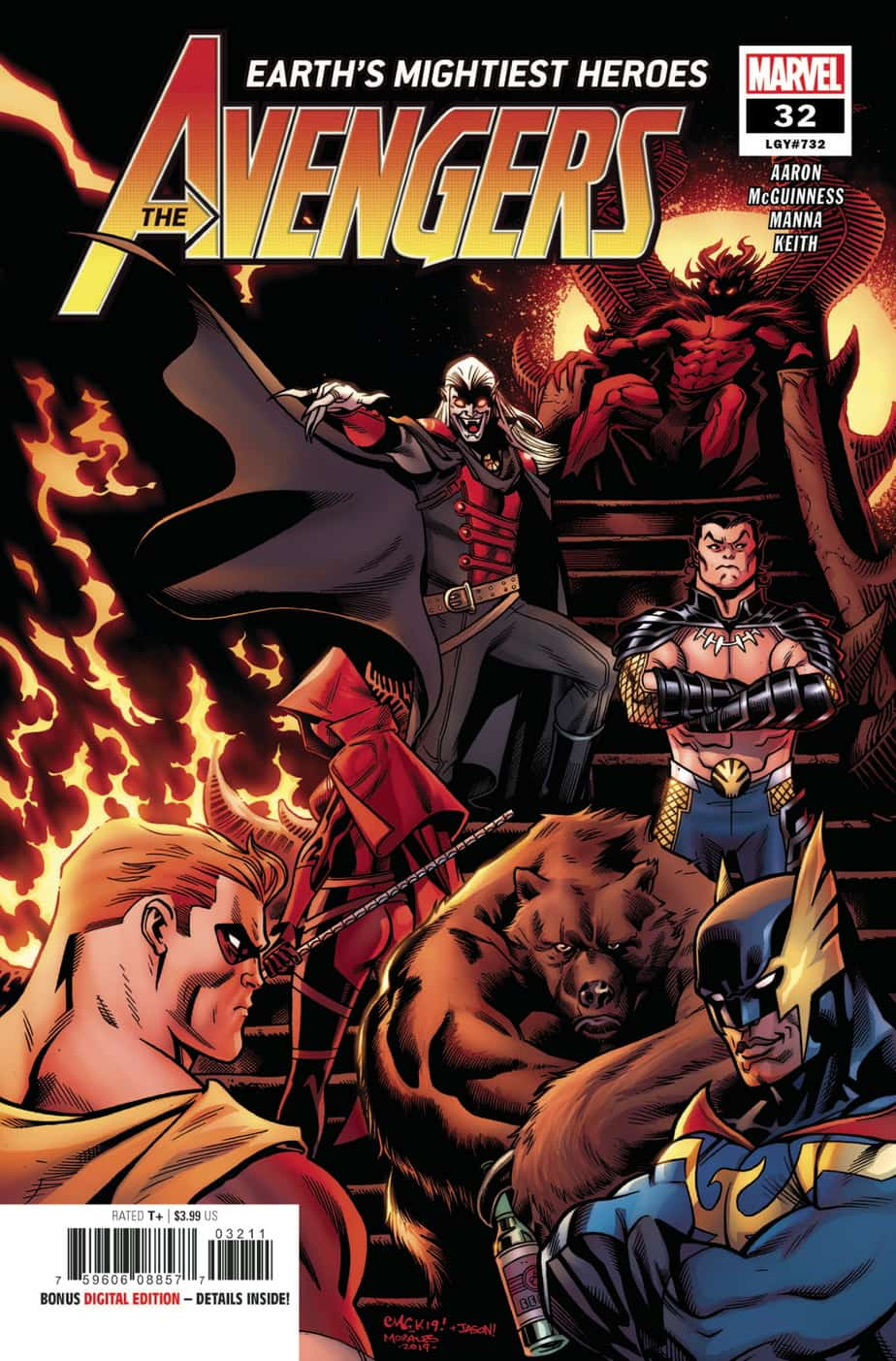 AVENGERS #32 - Cover A