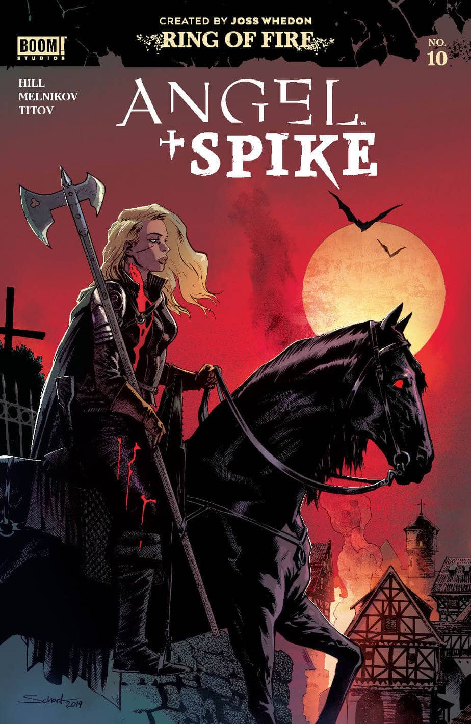 ANGEL & SPIKE #10 - Incentive Variant Cover