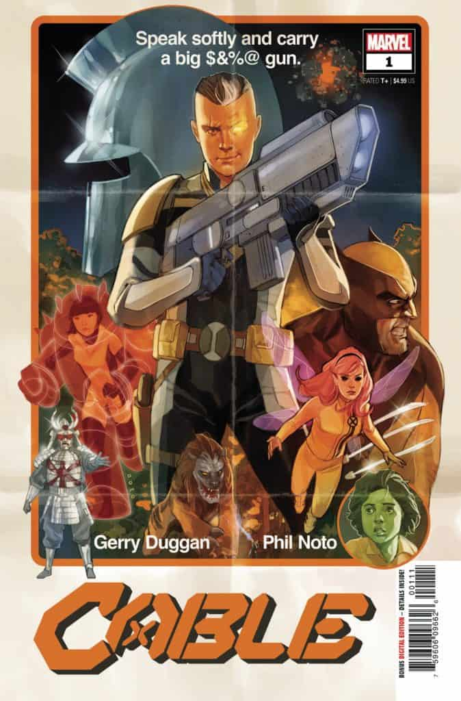 CABLE #1 - Cover A