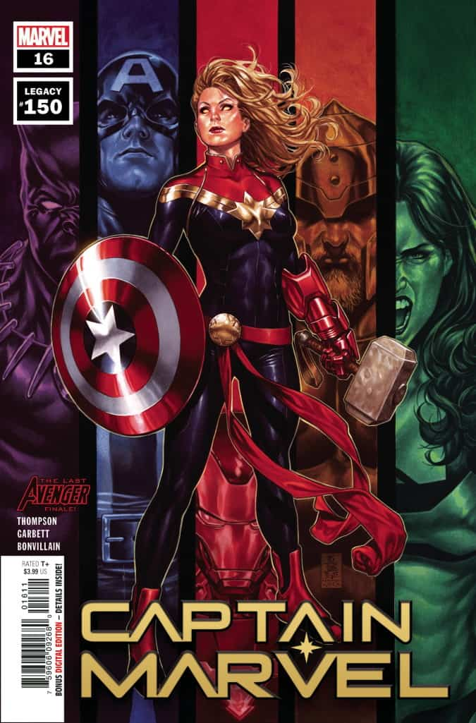 CAPTAIN MARVEL #16 - Cover A