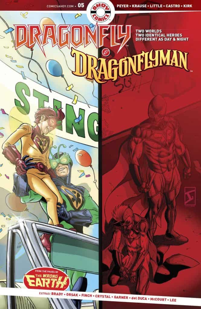 DRAGONFLY AND DRAGONFLYMAN #5 cover