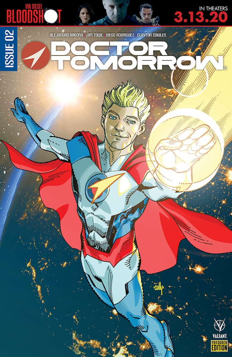 DOCTOR TOMORROW #2 - Cover D