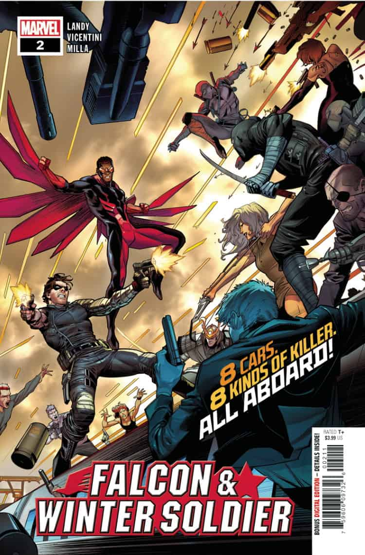 FALCON AND THE WINTER SOLDIER #2 - Cover A