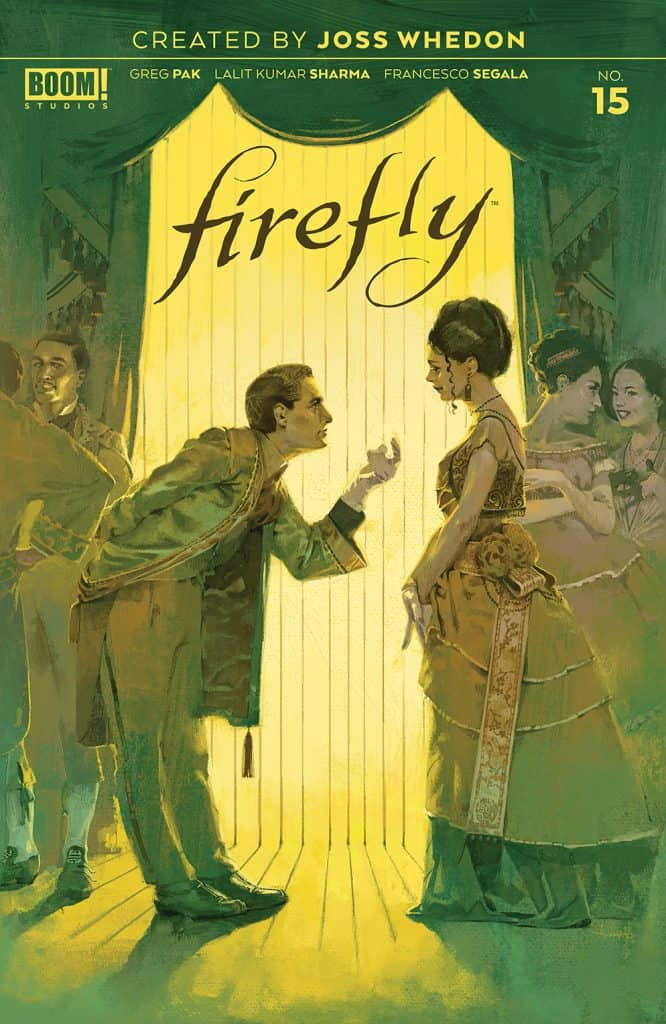 FIREFLY #15 - Main Cover