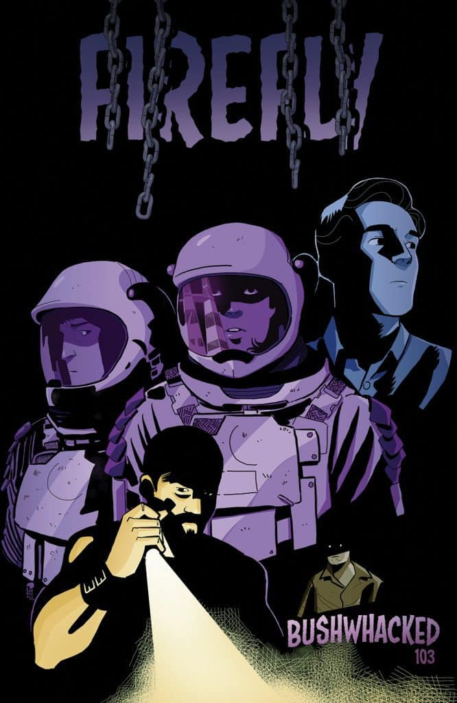 FIREFLY #15 - Animated Variant Cover