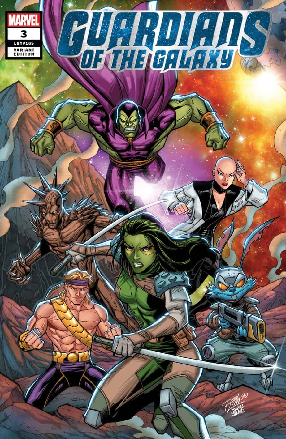 GUARDIANS OF THE GALAXY #3 - Cover B