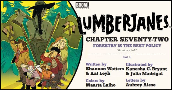 LUMBERJANES #72 preview feature