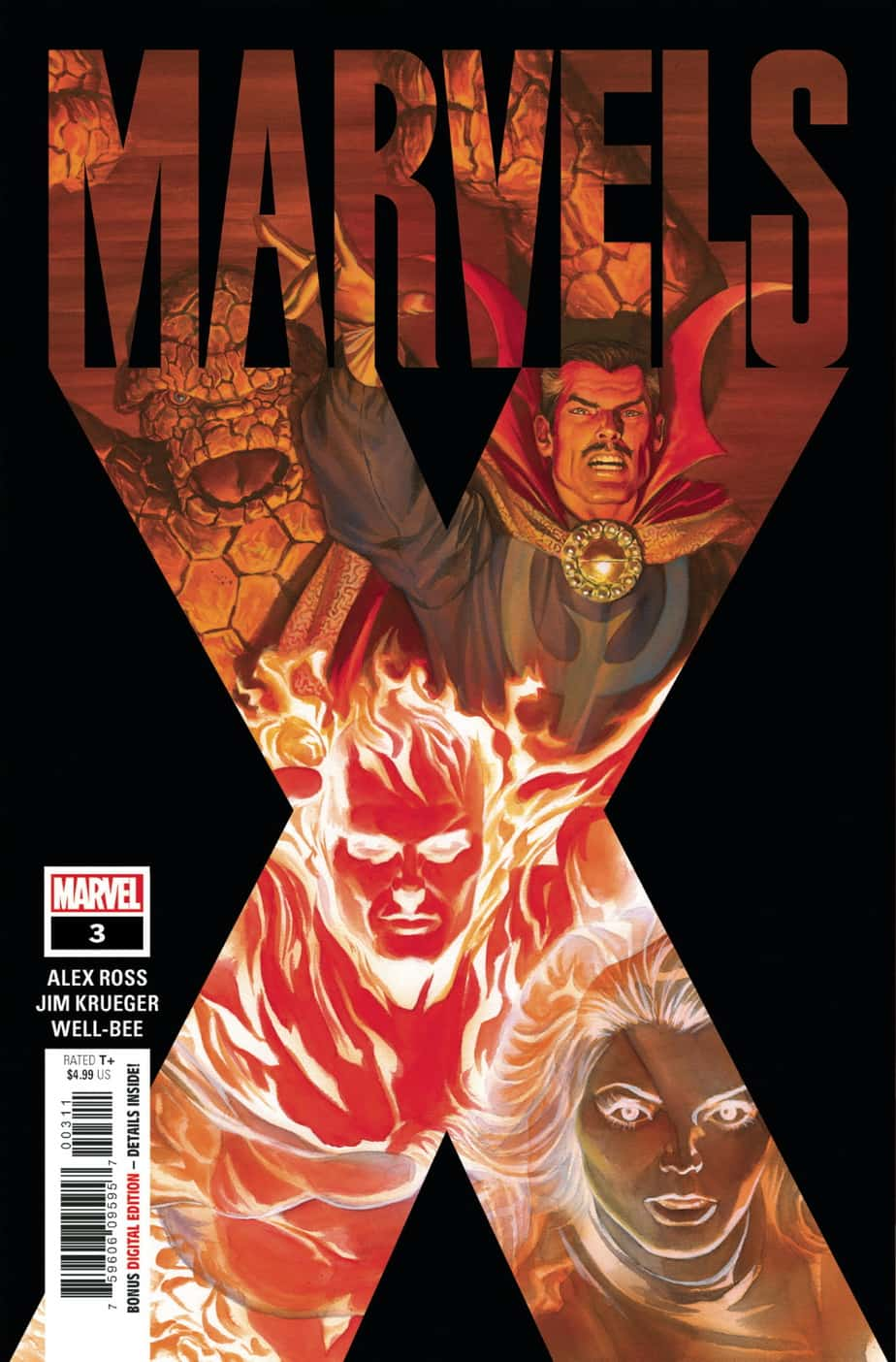 MARVELS X #3 - Cover A