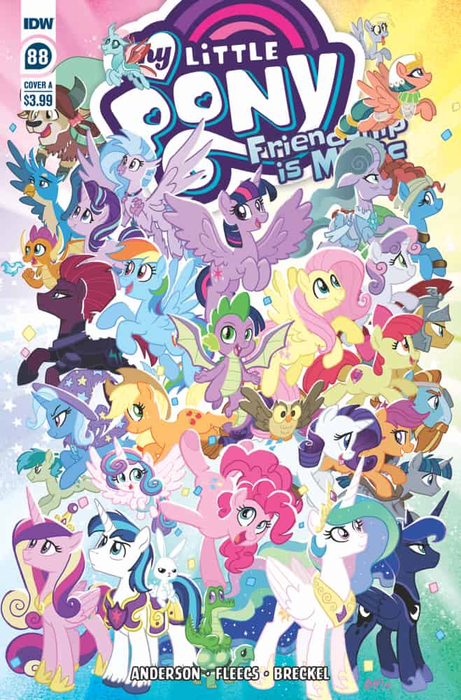 My Little Pony: Friendship is Magic #88 - Cover A