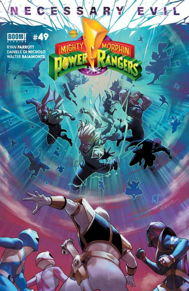 Mighty Morphin Power Rangers #49 - Main Cover
