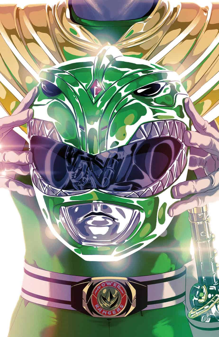 Mighty Morphin Power Rangers #49 - Foil Variant Cover