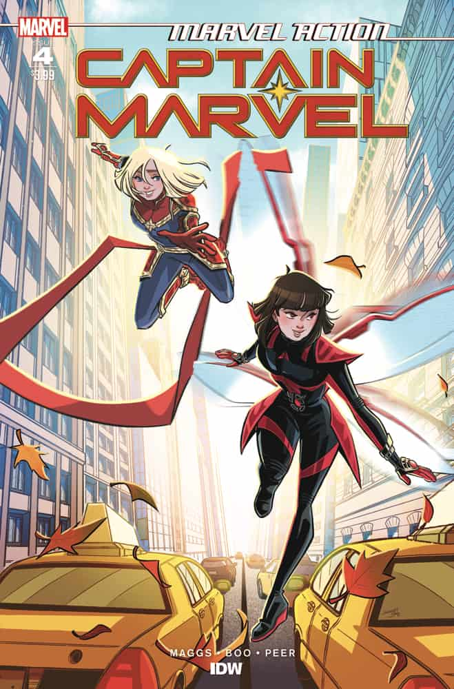 Marvel Action Captain Marvel #4 - Cover A