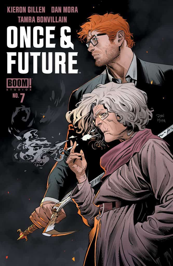 Once & Future #7 - Main Cover