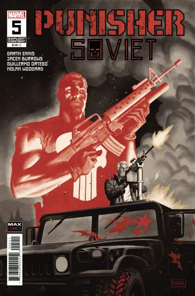 PUNISHER SOVIET #5 - Cover A