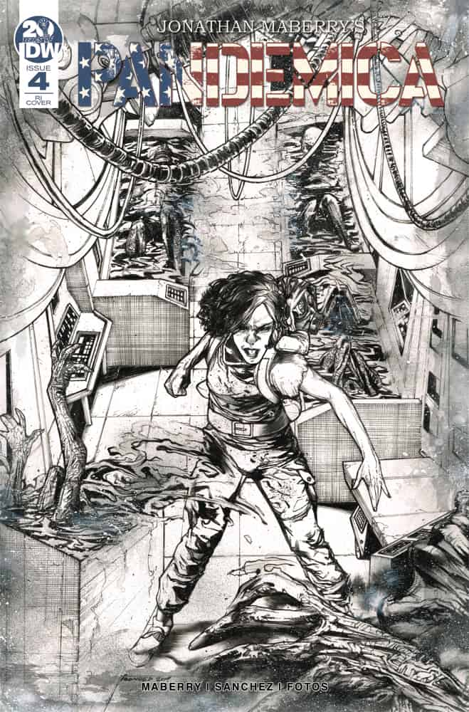 Pandemica #4 - Retailer Incentive Cover