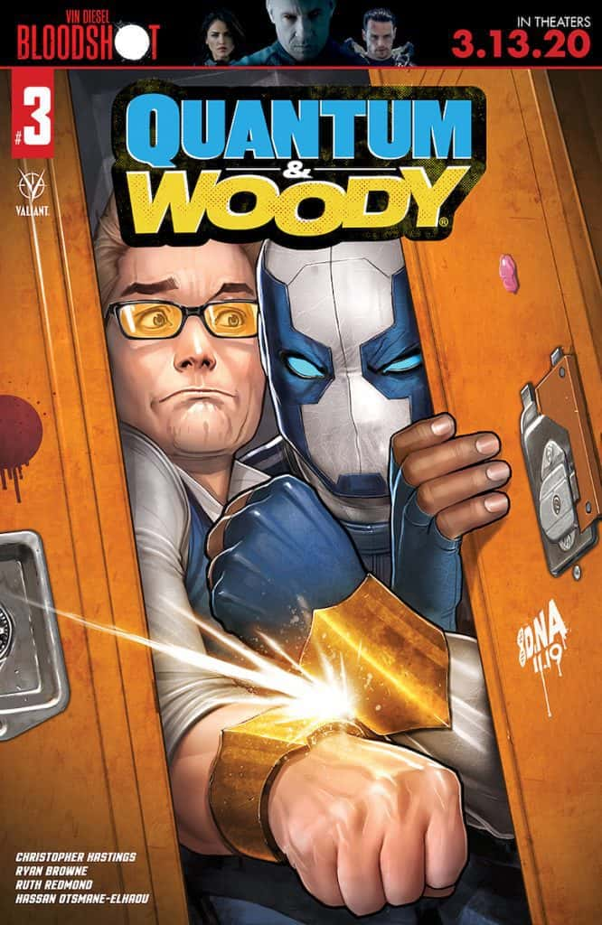 QUANTUM AND WOODY #3 - Cover A