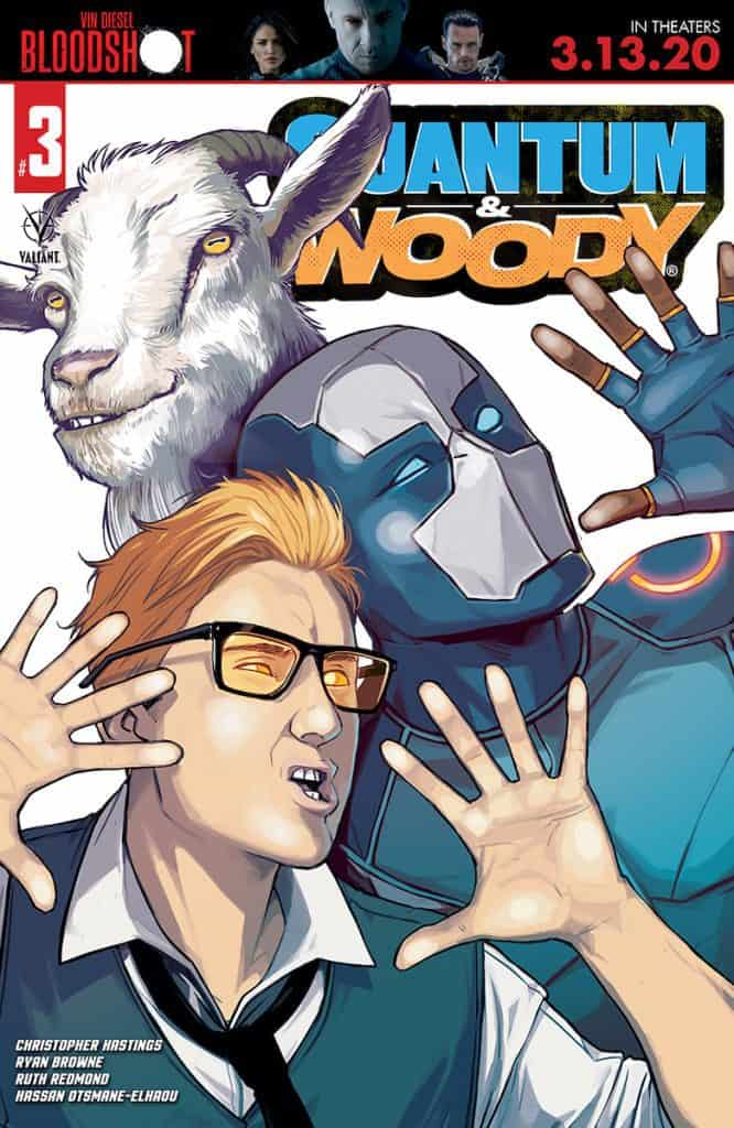 QUANTUM AND WOODY #3 - Cover B