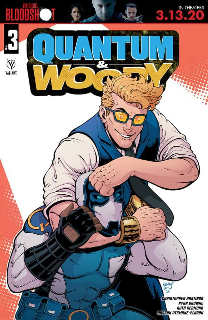 QUANTUM AND WOODY #3 - Cover C