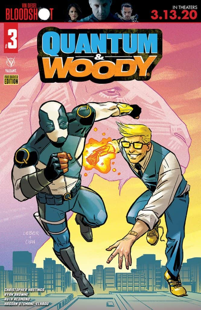 QUANTUM AND WOODY #3 - Cover D