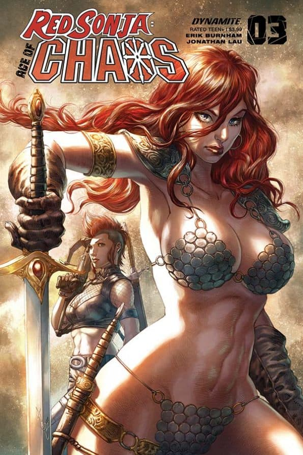 Red Sonja: Age of Chaos #3 - Cover B