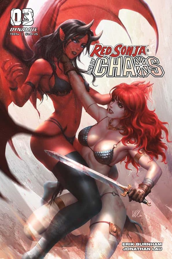Red Sonja: Age of Chaos #3 - Cover D