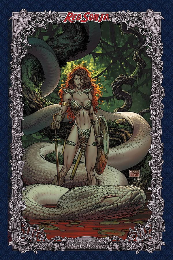 Red Sonja: Age of Chaos #3 - Michael Turner Icon Variant
