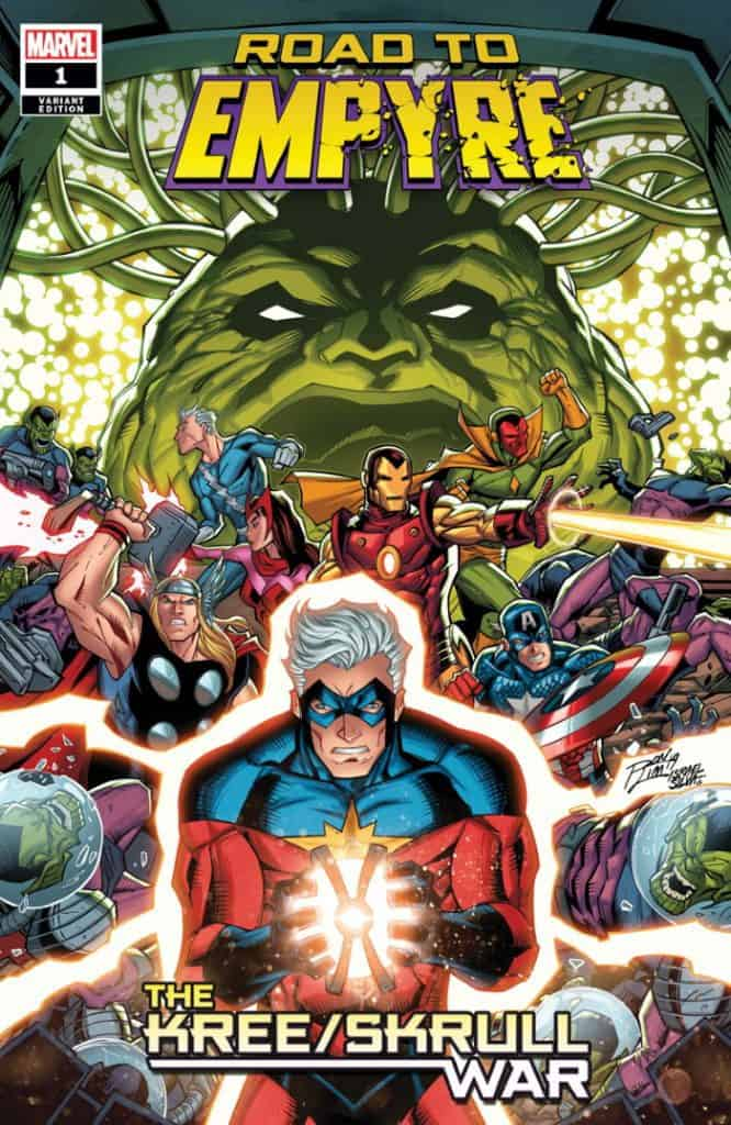 Road To Empyre The Kree Skrull War #1 - Cover B