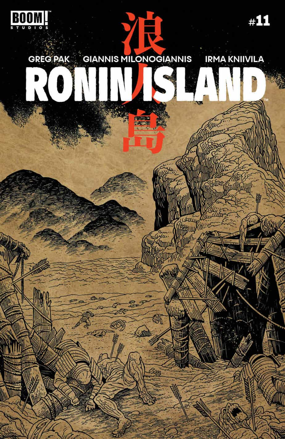 Ronin Island #11 - Preorder Cover