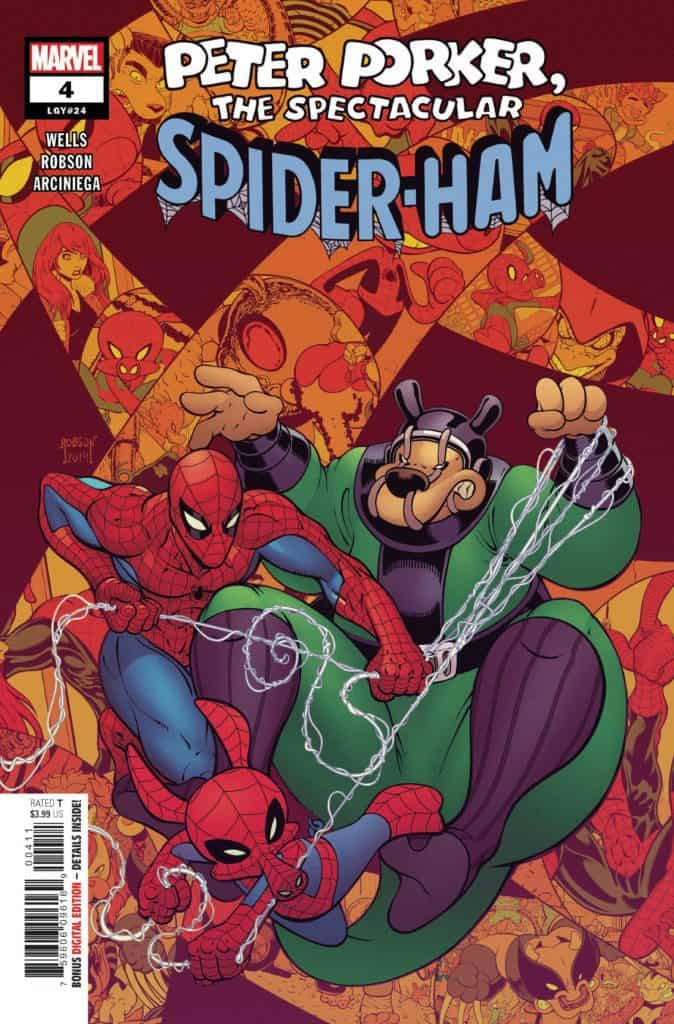SPIDER-HAM #4 - Cover A
