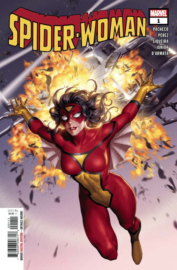 SPIDER-WOMAN #1 - Cover A