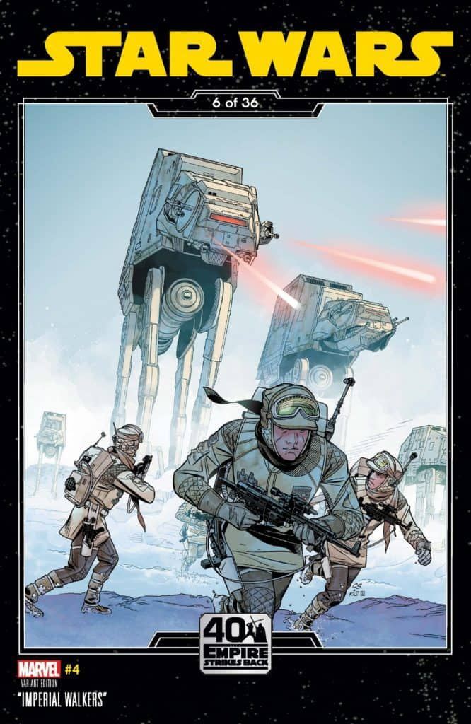STAR WARS #4 - Cover B