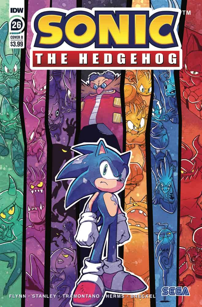 Sonic the Hedgehog #26 - Cover B