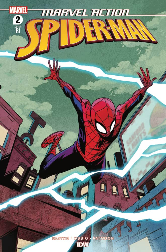 Marvel Action: Spider-Man Vol. 2 #2 - Retailer Incentive Cover