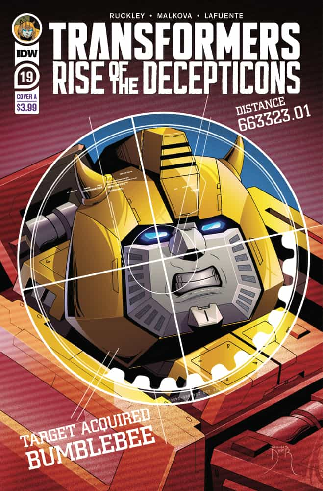Transformers #19 - Cover A