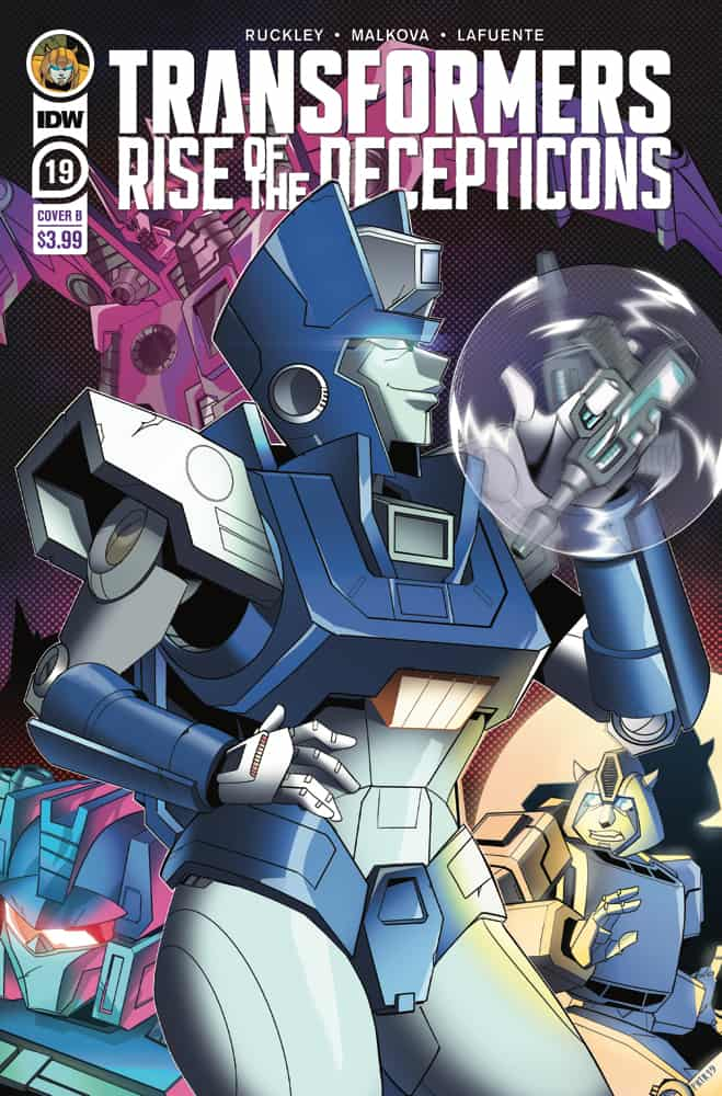 Transformers #19 - Cover B