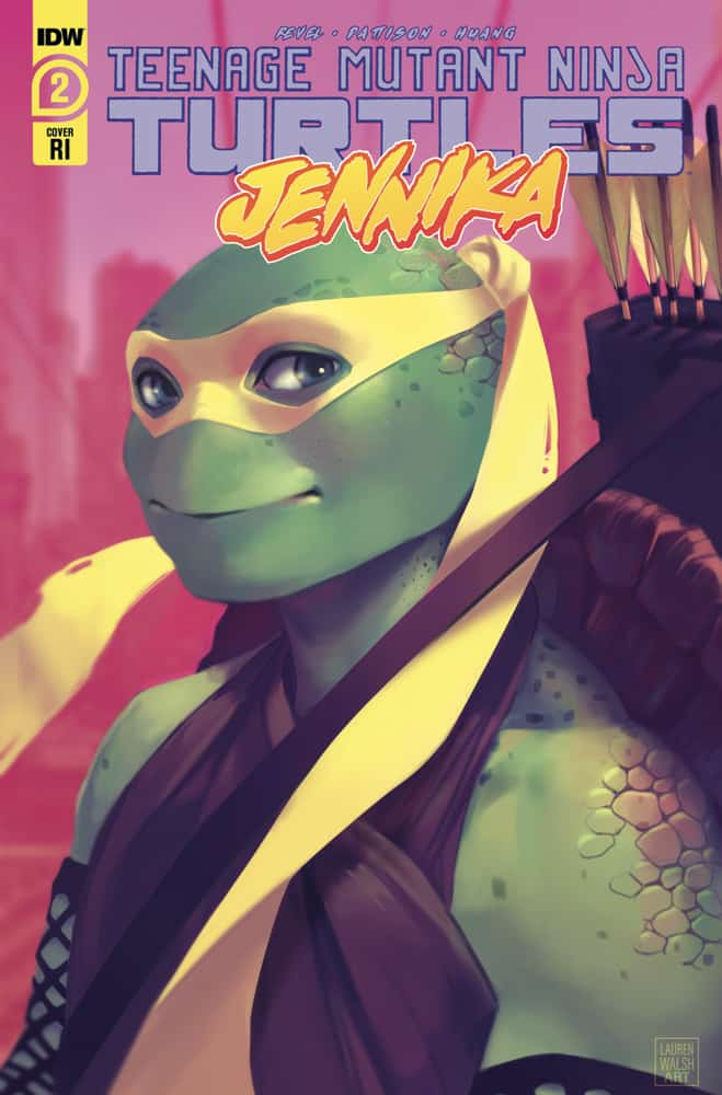 TEENAGE MUTANT NINJA TURTLES: Jennika #2 - Retailer Incentive