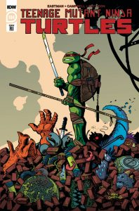 Teenage Mutant Ninja Turtles #104 - Retailer Incentive Cover