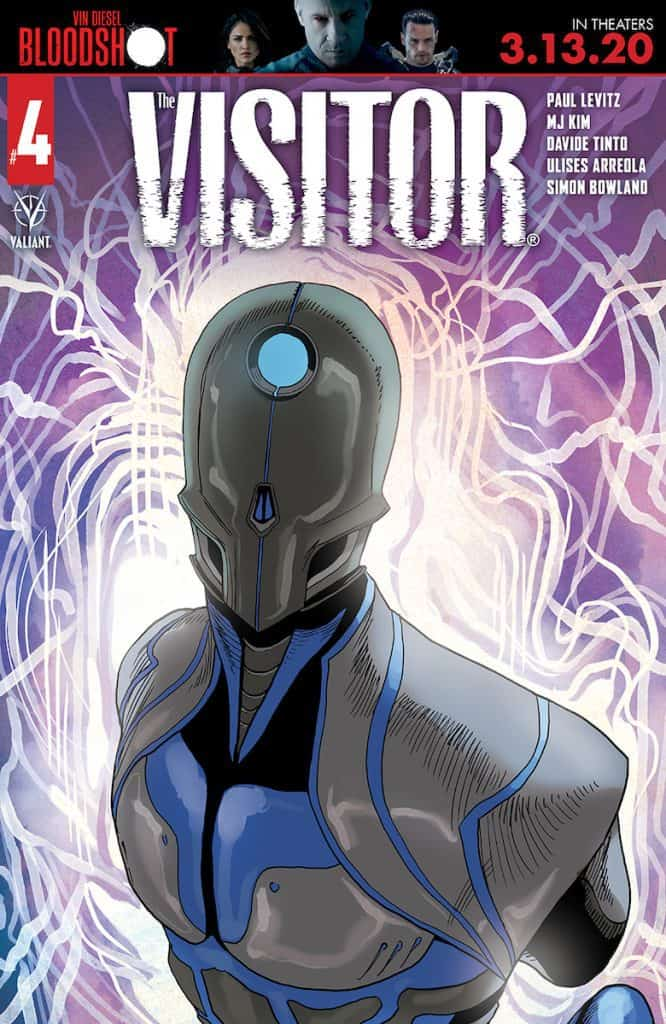 THE VISITOR #4 - Cover A