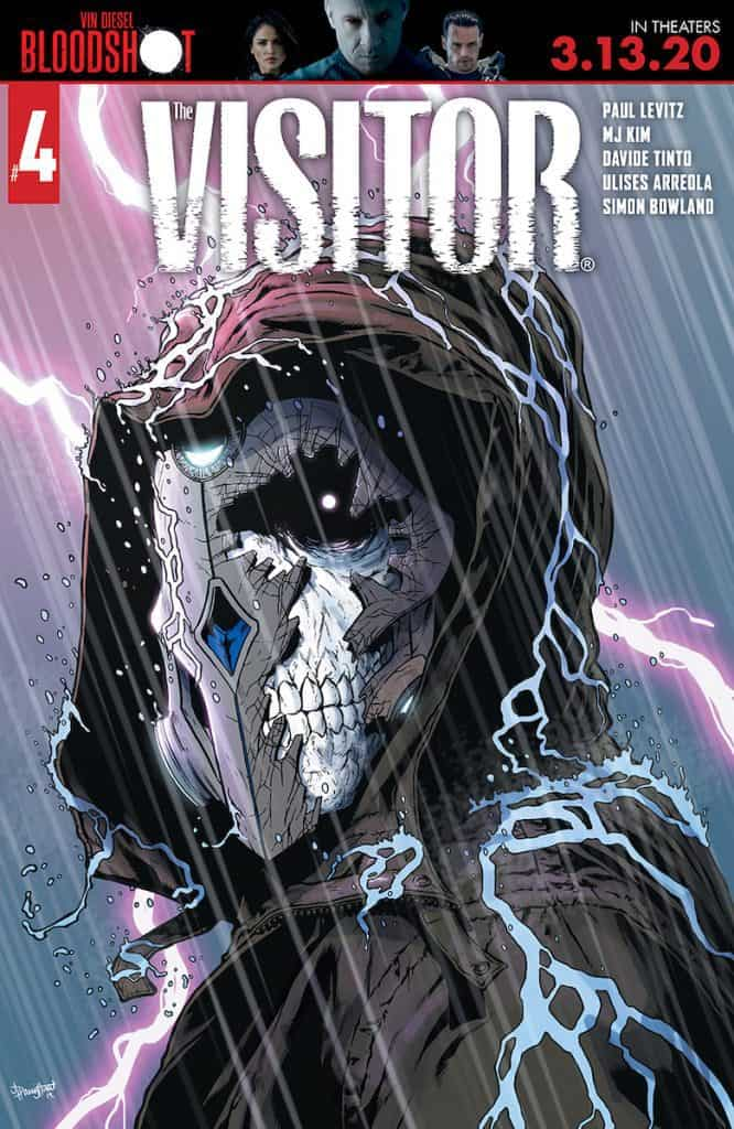 THE VISITOR #4 - Cover B
