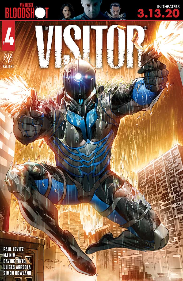 THE VISITOR #4 - Cover C
