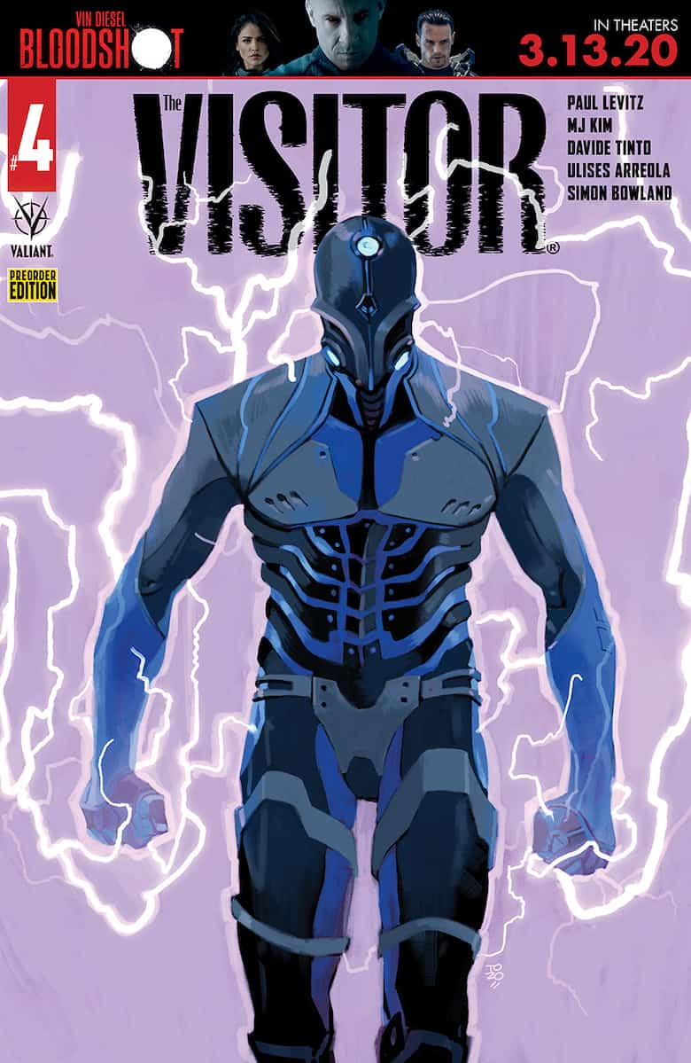THE VISITOR #4 - Cover D