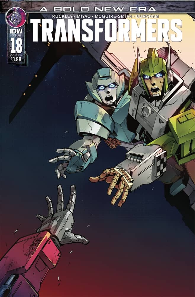 Transformers #18 - Cover A