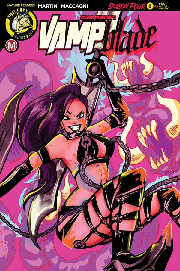 Vampblade Season 4 #8 Cover E